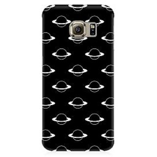 RAYITE Planets Pattern Premium Printed Mobile Back Case Cover For Samsung S6 Edge Plus