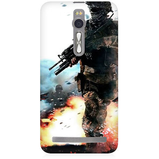 RAYITE Games Premium Printed Mobile Back Case Cover For Asus Zenfone 2