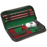 An Ideal Gift Executive Portable Folding Leather Golf Kit Set