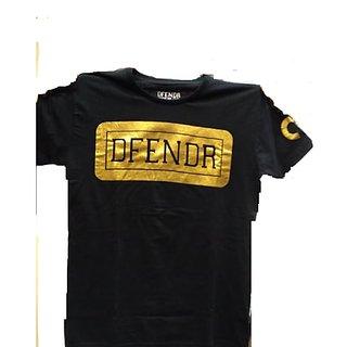 Golden Defender Black T Shirt