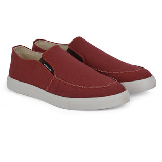 Wega Life SAWYER Maroon Canvas Shoes