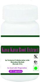 Hawaiian herbal kava kava root extract capsule