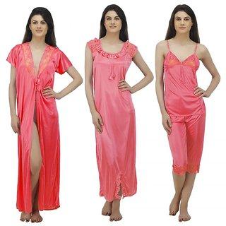 c8e5307bd7 Buy Arlopa 4 Pieces Nightwear in Satin Online - Get 70% Off