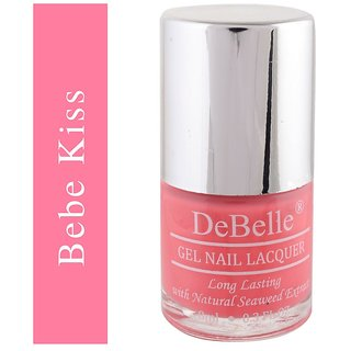 DeBelle Gel Nail Lacquer Bebe Kiss Baby Pink