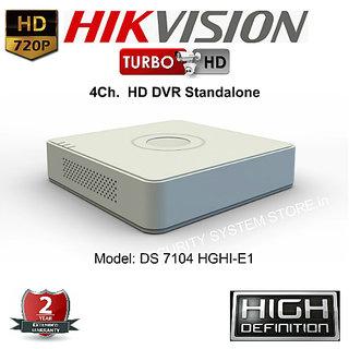 HIKVISION DS-7104HGHI-E1 Turbo HD 720P 4 Ch. HD DVR