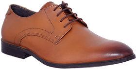 Allen Cooper AC-11703 Tan Premium Leather Formal Derby