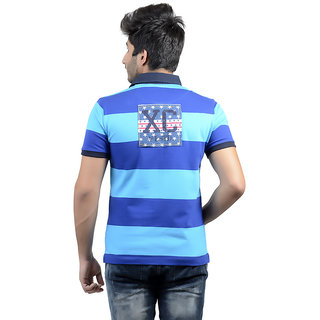 78bff93ee Buy Usi Blue Cotton Polo Tshirt Online - Get 15% Off