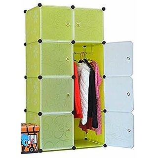 YEZ FOLDING WARDROBE 8 BOX POLYPROPYLENE SHEET