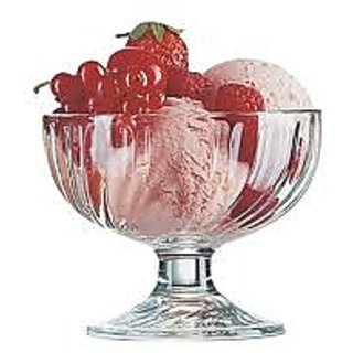ice cream bowl set buy glassware bowl set of 6 4386