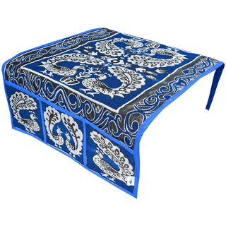 Nisol Blue Peacock Shalil Fridge Top Cover