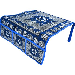 Nisol  Blue Classic Lilly Fridge Top Cover