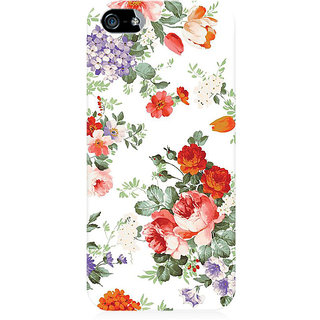 RAYITE Flower Pattern Preum Printed Mobile Back Case Cover For   5/5s/SE