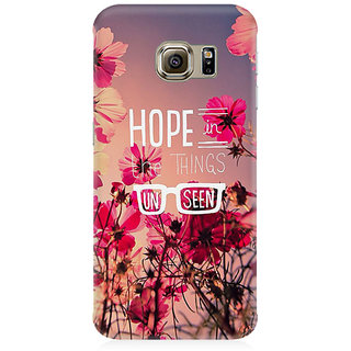 RAYITE Hope In Unseen Premium Printed Mobile Back Case Cover For Samsung S7