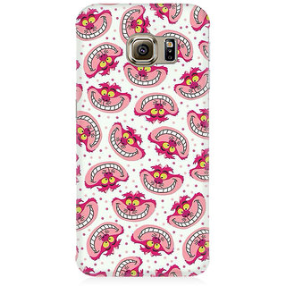 RAYITE Cute Toon Premium Printed Mobile Back Case Cover For Samsung S6 Edge G9250