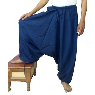 Rayon Blue Harem for Men