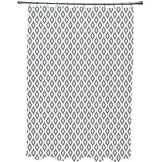Buy Ebydesign Geometric Shower Curtain White Rain Black Paloma Online 1000 From ShopClues