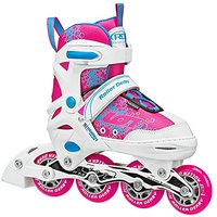 Roller Derby I145-S Girls ION 7.2 Adjustable Inline Skate, Small (11-1)