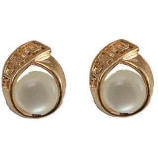 ec0186ca6 Buy Taj Pearl designer Stud Earrings Online - Get 40% Off
