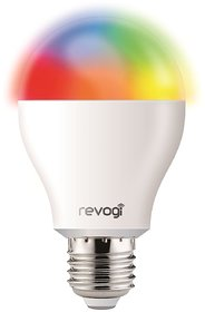 Revogi Smart Color LED Bulb LTB211 RGBW Dimmable Bluetooth 4.0 Low Energy Wireless Lightbulb, Android 4.3+ iOS 6+, E26,