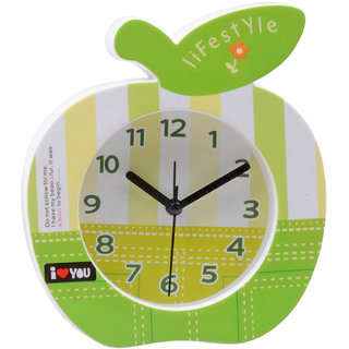 Jm Exclusive Fashionable Table Desk Clock Watches with Alarm - 308