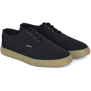 Wega Life RHINO Black Canvas Shoes
