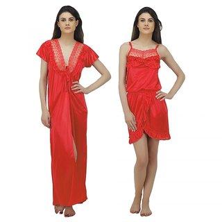 55713f9aca Buy Arlopa 3 Pieces Nightwear in satin Online - Get 73% Off
