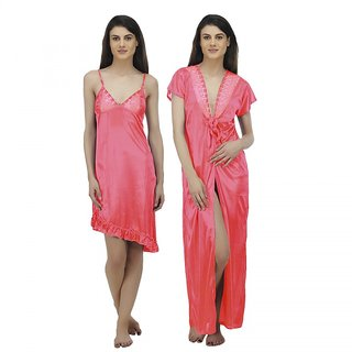 da547bed507 Buy Arlopa Robe With Baby Doll Nighty Online - Get 71% Off