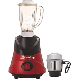 Speedway 600 Watts Mixer Juicer Grinder with 2 Jar (1 Juicer Jar without filter and 1 Chuntey Jar) Direct Factory Outlet, Save On Retailer margin.