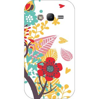 Go Hooked Designer Soft Back Cover For SAMSUNG GALAXY J2 ACE + Free Mobile Stand (Assorted Design)