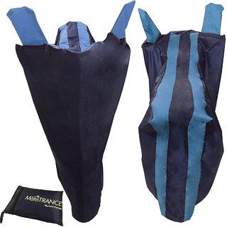 Mototrance Sporty Arc Blue Aqua Bike Body Cover For Hero Xtreme Sports