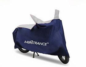 Mototrance Sporty Blue Bike Body Cover For Honda CB Shine SP