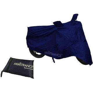 Mototrance Blue Bike Body Cover For LML CRD