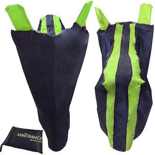 Mototrance Sporty Arc Blue Yellow Bike Body Cover For Piaggio Vespa Elegante