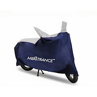 Mototrance Sporty Blue Bike Body Cover For TVS Apache 150