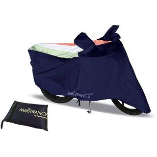 Mototrance Sporty Arc Blue Freedom Tri Bike Body Cover For Hero Hunk