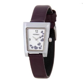 Fostelo Silver Women's Wrist Watches (Design 3)