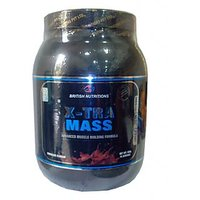 British Nutritions Xtra Mass 500 Gm Choclate
