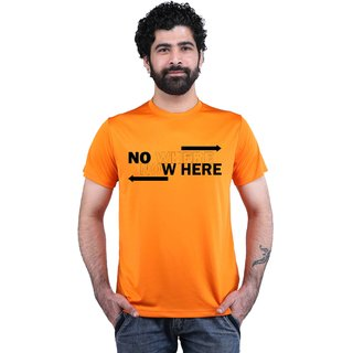 Snoby No Where Printed T-shirt