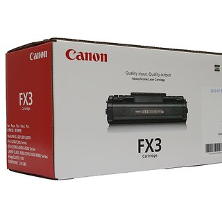 Canon FX3 Black Toner Cartridge Canon Printer Fax L200 220 230 240 250 260260i 280 290 295 300 350 360