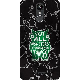 Go Hooked Designer Soft Back Cover For XOLO ERA 2X+ Free Mobile Stand (Assorted Design)