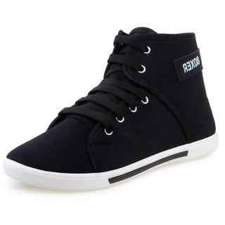 buy chevit men's black casual sports sneaker shoes online