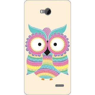 Go Hooked Designer Soft Back Cover For PANASONIC ELUGA TAPP + Free Mobile Stand (Assorted Design)