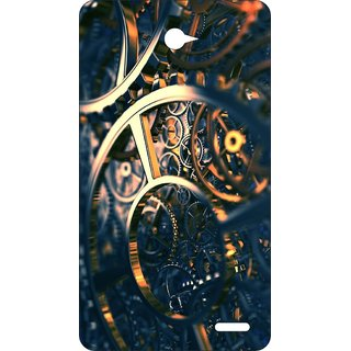 Go Hooked Designer Soft Back Cover For PANASONIC P71 + Free Mobile Stand (Assorted Design)