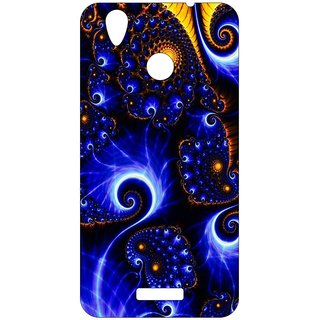 Go Hooked Designer Soft Back Cover For LYF WATER 7s + Free Mobile Stand (Assorted Design)