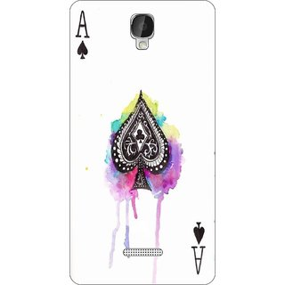 Go Hooked Designer Soft Back Cover For LAVA Iris Fuel F2 + Free Mobile Stand (Assorted Design)