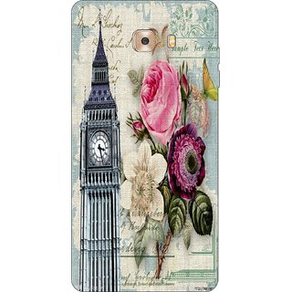 Go Hooked Designer Soft Back Cover For SAMSUNG GALAXY C9 PRO + Free Mobile Stand (Assorted Design)