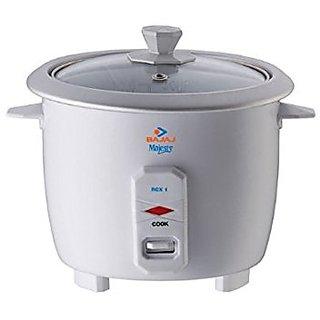 Bajaj Majesty RCX 1 Mini 0.4-Litre 200-Watt Multifunction Rice cooker
