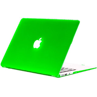 Spider Designs Rubberized Hard Case Cover For Apple Macbook Pro Retina 13-Green