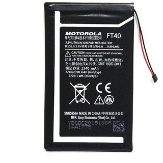 Li Ion Polymer Replacement Battery FT-40 FT40 FT 40 for Motorola Moto E 2nd Gen Xt1526 Xt1527 2240 mAh 3.8V