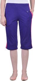 Dollar Missy Women'S Purple  Relaxed Capri